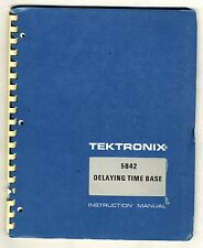 TEKTRONIX - 5B42 - SERVICE INSTRUCTION MANUAL ( ORIGINAL BOOK )