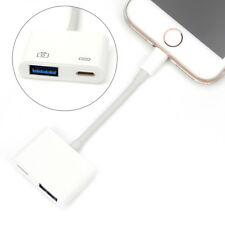 8Pin to USB 3 Camera Reader Data Sync Cable Adapter For Apple IphoneXS iPad
