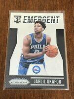 2015-16 Panini Prizm Basketball Emergent - Jahlil Okafor - Philadelphia 76ers