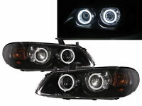 Sunny N16 MK2 03-06 FACELIFT Cotton Halo Projector Headlight BK for NISSAN LHD