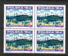 POLAND 1988 STALOWA WOLA IRONWORKS, 50TH ANNIV.  BLOCK OF 4 SC # 2867 MNH