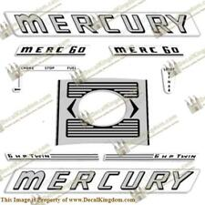 Mercury 1963 6HP Outboard Engine Decals