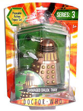"Dr DOCTOR QUIÉN serie 3 Battle Damaged Dalek Thay 5"" Figura de Acción Sellados UK"