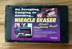 """Miracle Eraser Blocks - 6 Big Stripping Blocks - New Old Stock """"As Seen On TV"""""""