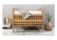 storage bench from high quality bamboo very strong FLAME RESISTANT