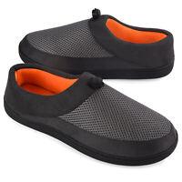 VONMAY Men's Comfort Memory Foam Slippers Anti-Slip Indoor Outdoor House Shoes