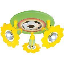 Deckenleuchte Deckenlampe Kinderzimmer Fußball 3x E14/max.40W * ELOBRA