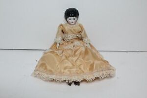 Antique German Miniature China Head Doll - China Head Doll