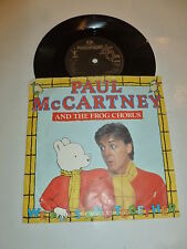 PAUL MCCARTNEY & THE FROG CHORUS - We All Stand Together - 1984 UK Vinyl Single