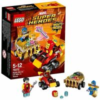 LEGO Super Heroes 76072 Iron Man VS Thanos Marvel Mighty Micros Serie 2