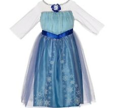 Disney Frozen Enchanting Dress Elsa Costume Dress Up Size 4-6X