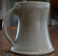 "COLLECTIBLE~HANDMADE ""WOOD FIRED""STEIN BY MIAMI VALLEY POTTERY-20.5oz-600ML"