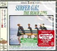 BEACH BOYS-SURFER GIRL-JAPAN SHM-CD BONUS TRACK D50
