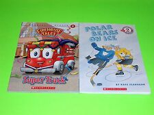 SCHOLASTIC LEVEL 2 DEVELOPING READER BOOKS POLAR BEARS ON ICE FIREHOUSE TALES