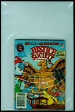 DC Comics Best Of DC Blue Ribbon Digest #21 JUSTICE SOCIETY Of America FN 6.0