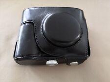 Kameratasche für Nikon COOLPIX P7700 Schwarz Kunstleder Hülle Retro camera case