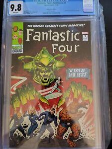 Fantastic Four Antithesis #2 CGC 9.8 Comics Elite Edition FF 49 Cover Zircher