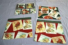 "Vintage~Christmas~The Saturday Evening Post~Wrapping Paper~( 4 )  Sheets 30""x20"""