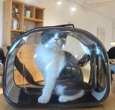 Pet Cat Travel Carrier Bag Dog Puppy Capsule Clear Foldable Shoulder Bags S L