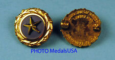 original WWII GOLD STAR LAPEL BUTTON PIN DATED 1947 gold plated in box