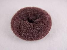 Brown hair magic bun maker pouf roller styling ring sponge donut hair accessory