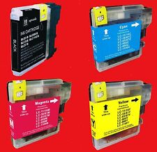 WB0980 4 CARTUCCE COMPATIBILI per BROTHER DCP-185C DCP-195C DCP-365CN DCP-375CW