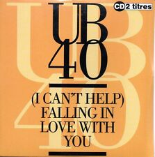 ★☆★ CD Single UB40 (I can't help) falling in love with you 2-track CARD SL  ★☆★