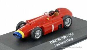 Ferrari D50 1956 Juan Manuel Fangio F1 coche 1:43 Atlas Diecast