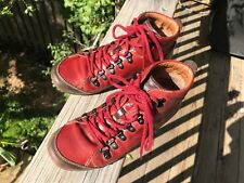PIKOLINOS size 36 (US 5.5) women's deep red / brown High top lace shoes - A2