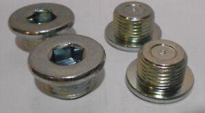 Lot of 4 Genuine Transmission Drain Plugs Toyota 90341-18023  M18 - 1.5 Thread
