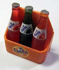 3D Miniature Fanta bottles Dollhouse Food Drink Soda Cola fridge magnets