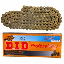 Gold 520 x 120 O-Ring Drive Chain ATV Dirt Bike Scooter 520 Pitch 120 Links dids