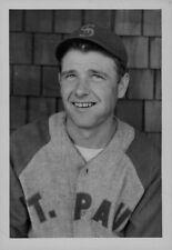 1939 St Paul Saints Pitcher Frank Lamanske Press Photo