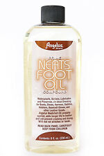 Angelus Prime Neats Foot Neatsfoot Oil Liquid Compound Leather Waterproof 8 oz