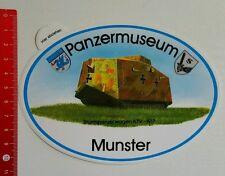 Aufkleber/Sticker: Münster Panzermuseum Sturmpanzerwagen A7V - 1917 (110716119)