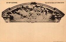 CPA Grands Magasins DUFAYEL PARIS (18e) Bas-relief de Dalou (193097)
