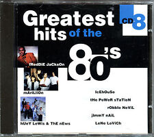 GREATEST HITS OF THE 80'S - VOLUME 8 - CD COMPILATION [736]