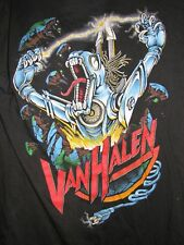 VAN HALEN 1986 Kicks Ass vintage licensed concert tour shirt LG