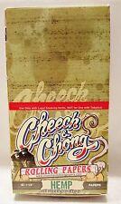 Full Box High Quality Cheech & Chong Hemp 1 1/4 Cigarette Rolling Papers 50 Per