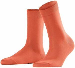 Falke Womens Cotton Touch Socks - Coral Rose Orange