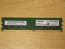 Crucial Micron 4GB (1x4GB) DDR2 667Mhz PC2-5300 240-pin Ram CT51264AA667.16FC