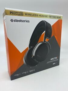 SteelSeries Arctis 7 Black Headsets for PC and PlayStation 4 New/Sealed FreeShip