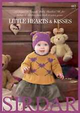 Sirdar Little Hearts & Kisses Snuggly Baby Bamboo DK Book 443 Patterns 0-7 yrs