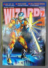 Wizard Comic Magazine 7 March 1993 X-O Man O War Variant Cover w/ Mini Poster NM