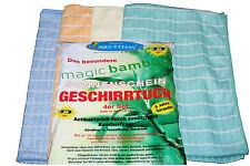8 Bambus Trockentücher Geschirrtücher Original Aqua Clean Bambus Tücher 8 er Set