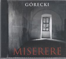 Gorecki: Miserere CD