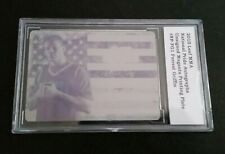 #1/1 Forrest Griffin National Pride Printing Plate 2010 Leaf MMA UFC Non Auto