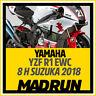 Kit Adesivi Yamaha R1 EWC 8 Ore Suzuka 2018 - 20th EDITION - High Quality Decals