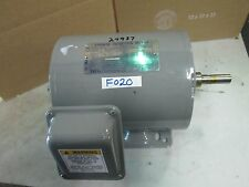 Teco Westinghouse 3 PH Induction Motor DS0/54 Type: ASGA HP: 1/2 1725 RPM (New)