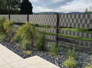 Sichtschutzstreifen PVC Kunststoff Windschutz Stabmatten Zaun Premium 4 Farben